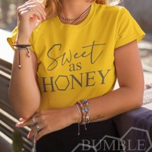 Sweet as Honey Bee Kind Save the Bees Graphic Tee